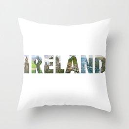 Views from Ireland Throw Pillow