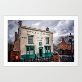 Victorian Bar Art Print