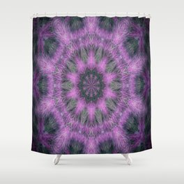 Fuzzy Dream Shower Curtain