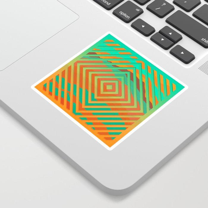TOPOGRAPHY 2017-021 Sticker