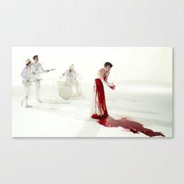 The Killing Type #5 (amanda palmer & the grand theft orchestra) Canvas Print