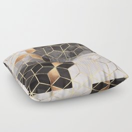 Smoky Cubes Floor Pillow