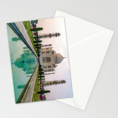 Taj Mahal at Sunset Stationery Cards