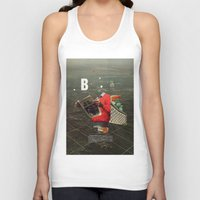 butterfly Tank Tops featuring Butterfly by Frank Moth