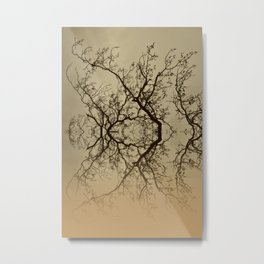 The Rorschach tree 9 version 2 Metal Print