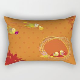 Autumn. Family. Rectangular Pillow