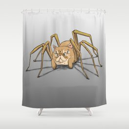 Figaro the Cat-Spider Shower Curtain