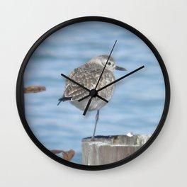 resting piper Wall Clock