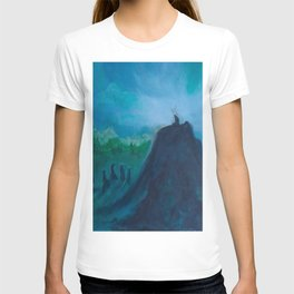 A Humble Place To Sit and Burn T-shirt
