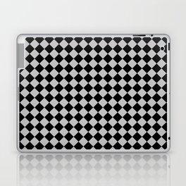 Black and Gray Diamonds Laptop & iPad Skin