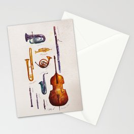 Wind Orchestra Stationery Cards