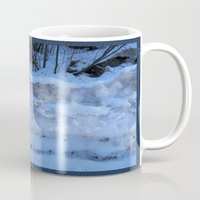 geology Mugs featuring The Geology of Snow by World Raven