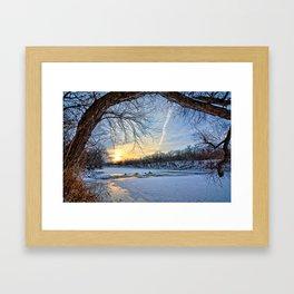 A January Morning Framed Art Print
