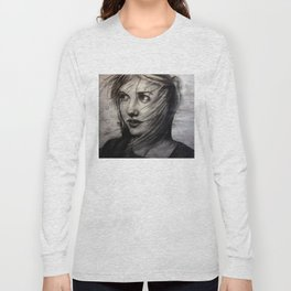 Undersketch of New Painting (VIDEO IN COMMENTS!!) Long Sleeve T-shirt