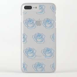 Floral Sex Clear iPhone Case