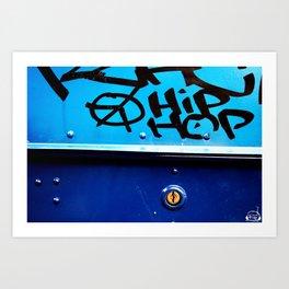 Hip Hop, Peace, Life Art Print