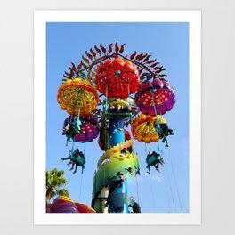 Jumping Jellyfish Art Print
