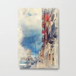Trapani art 20 Sicily Metal Print