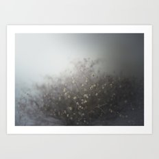 cover me with flowers Art Print