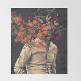 Roots Throw Blanket