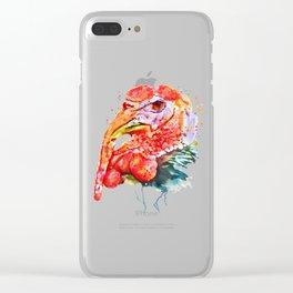 Turkey Head Clear iPhone Case