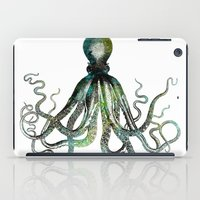 octopus iPad Cases featuring Octopus by LebensART