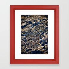 First Step Framed Art Print