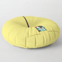 Peek show! Floor Pillow