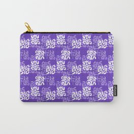 Swanky Mo Purple Carry-All Pouch