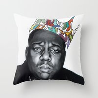 notorious Throw Pillows featuring Notorious by Jared Yamahata