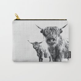 HIGHLAND COW - LULU & SARA Carry-All Pouch
