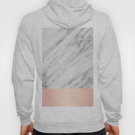 Real Italian Marble and Pink Hoody