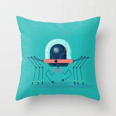 :::Mini Robot-Arachno::: Throw Pillow