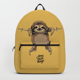 Hang in There Baby Sloth Backpack