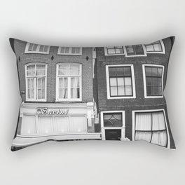 Love Amsterdam Houses and Bikes Rectangular Pillow