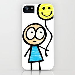 Am I Happy Yet? iPhone Case