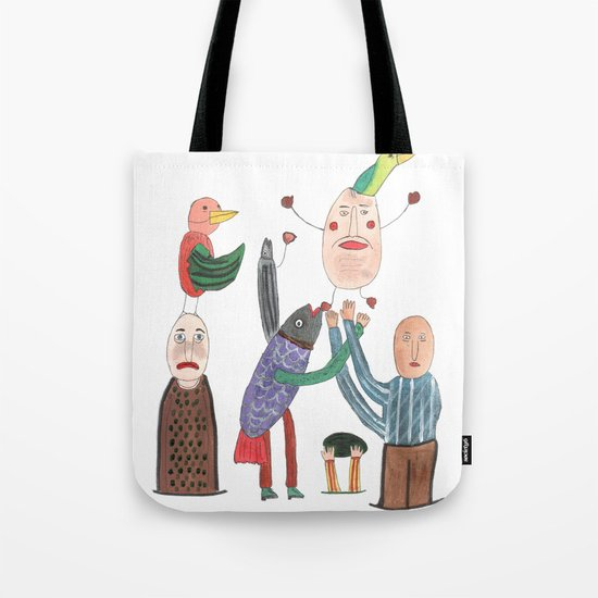 Crazy Egg. Tote Bag