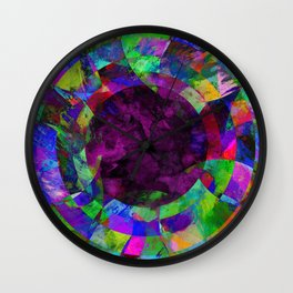 Pscychedelic Vision Wall Clock