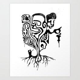 Self-Righteous Art Print
