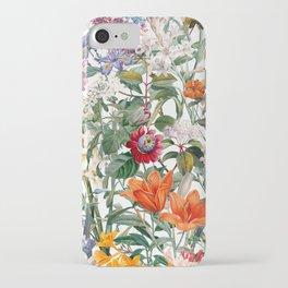 Vintage Garden IX iPhone Case