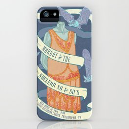 Margot and the Nuclear So and So's Poster  iPhone Case