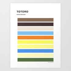 The colors of - to to ro Art Print