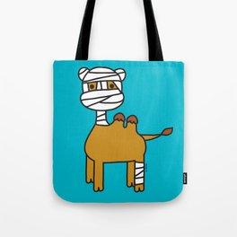 Bandage Camel Tote Bag
