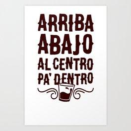 ARRIBA ABAJO AL CENTRO PA_ DENTRO T-SHIRT Art Print