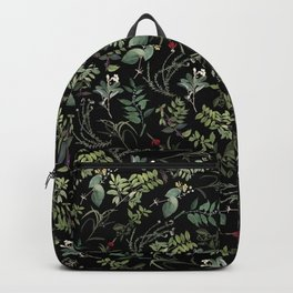 Circular Leaves Backpack