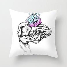 Gathering My Thoughts for the Night Throw Pillow
