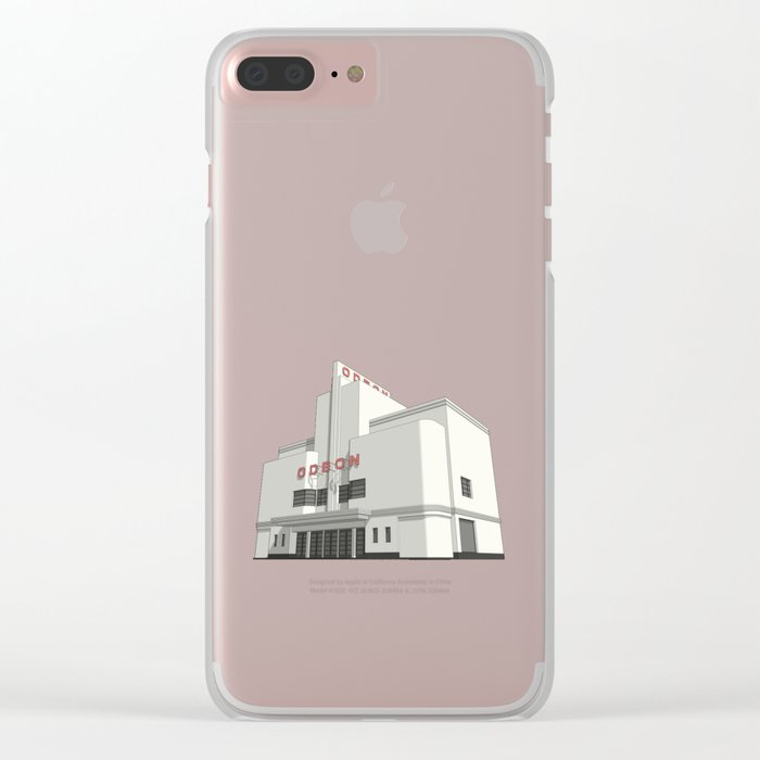 ODEON Balham Clear iPhone Case