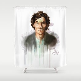 Current King of England Shower Curtain