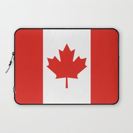 Red and White Canadian Flag Laptop Sleeve