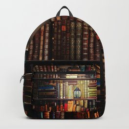 The Cozy Cottage Reading Nook Backpack